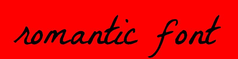 Romantic text generator